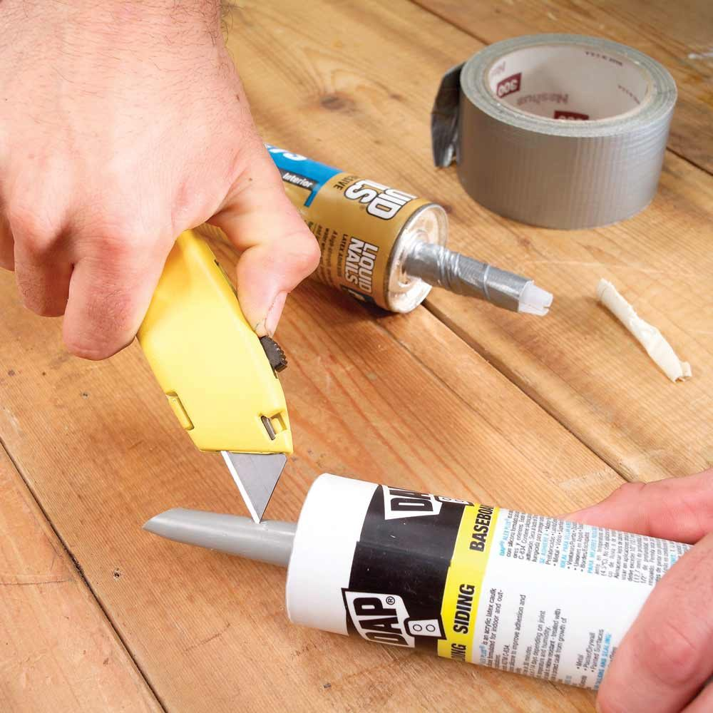 Reusable Caulk Tube