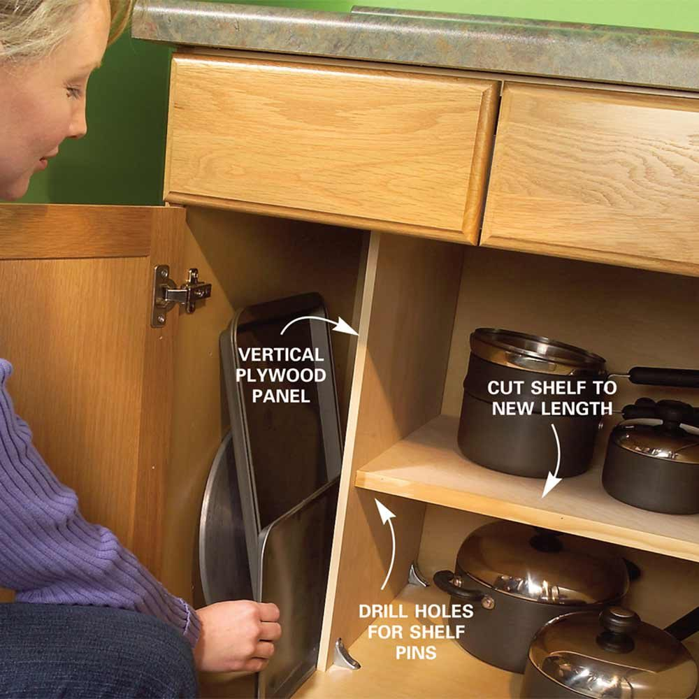 Pots And Pans Storage Ideas To Take Note Of: Quick And Clever Kitchen Storage Ideas