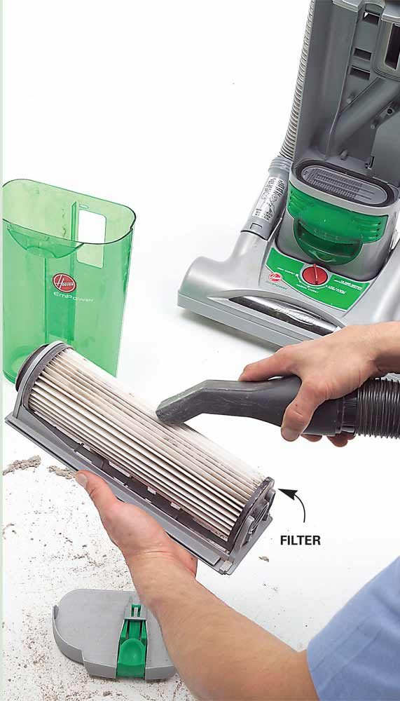 Clean Your Bagless Vacuum Filter