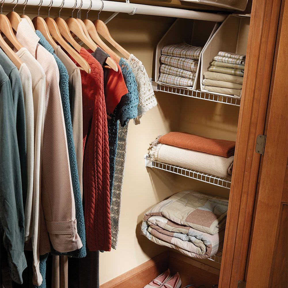 Easy ways to expand your closet space the family handyman for Adding a walk in closet