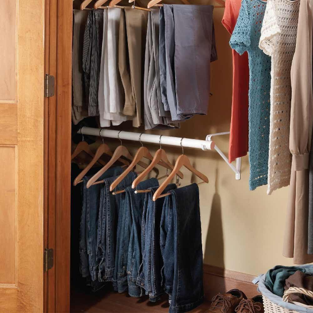 Double-Decker Closet Rod