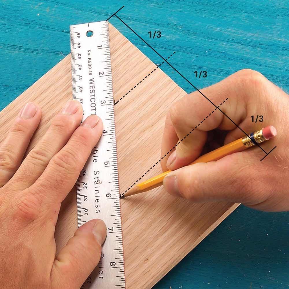 Slant-Ruler Board Divider