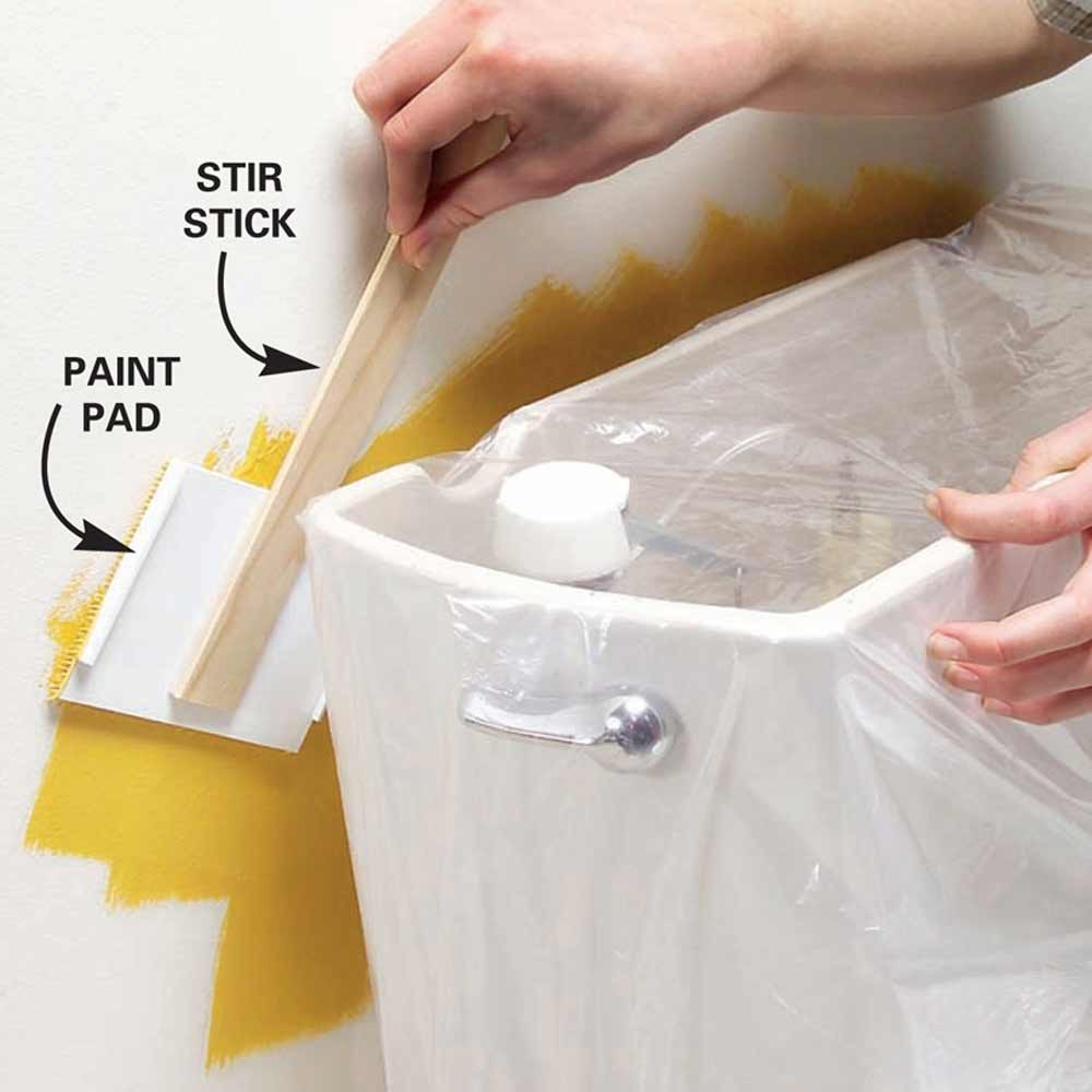 Paint Pad for Tight Spots