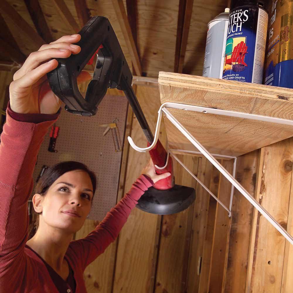 Heavy Duty Shelf Brackets Garage Double-duty Shelf Brackets