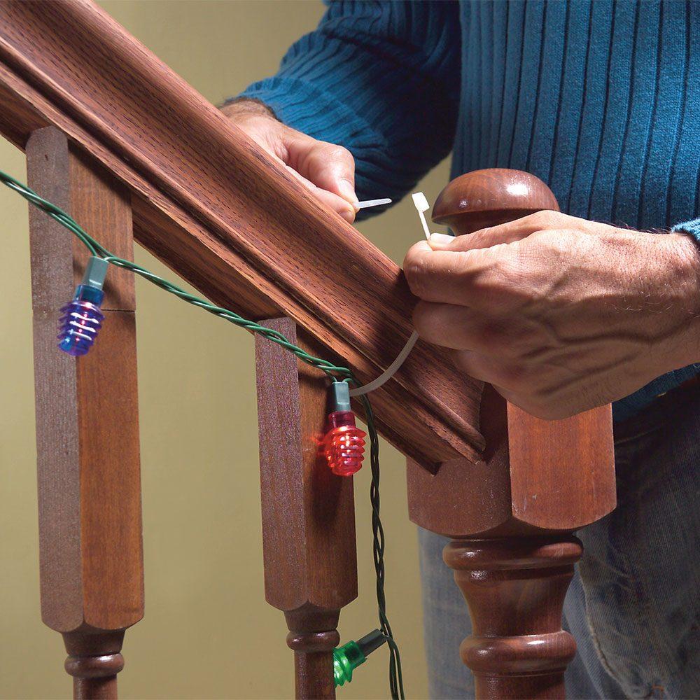 Zip-Tie Your Decorations
