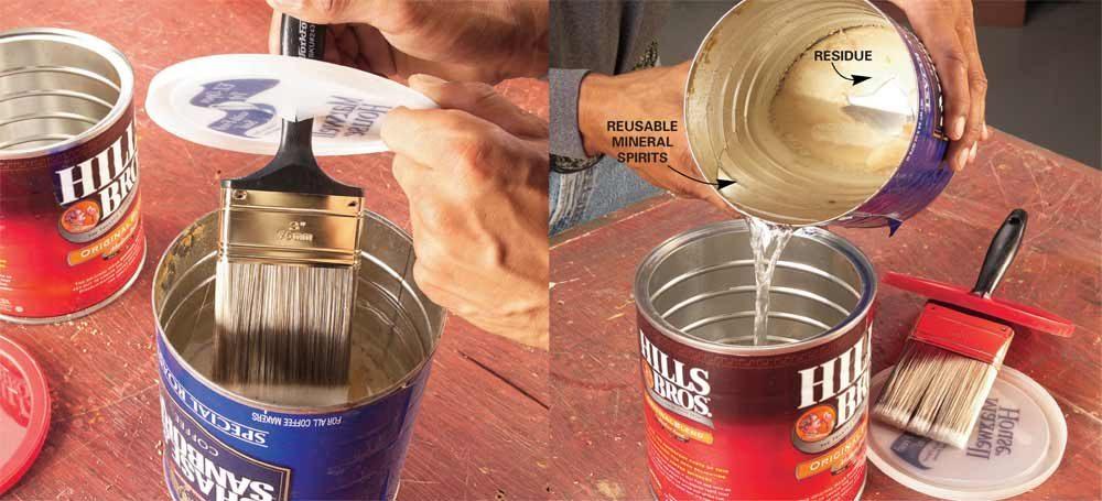 No-Clean Varnish Brushes