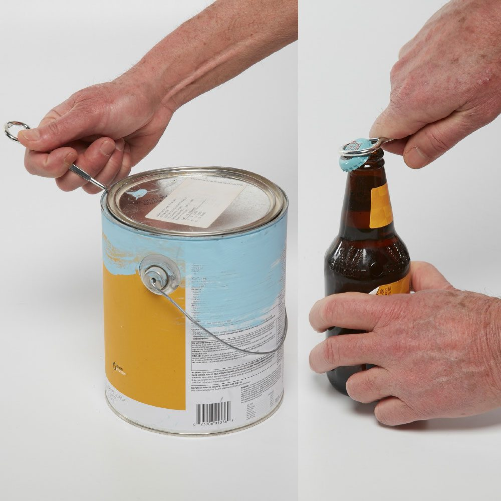 Official Paint Can Opener – Not a Screwdriver!