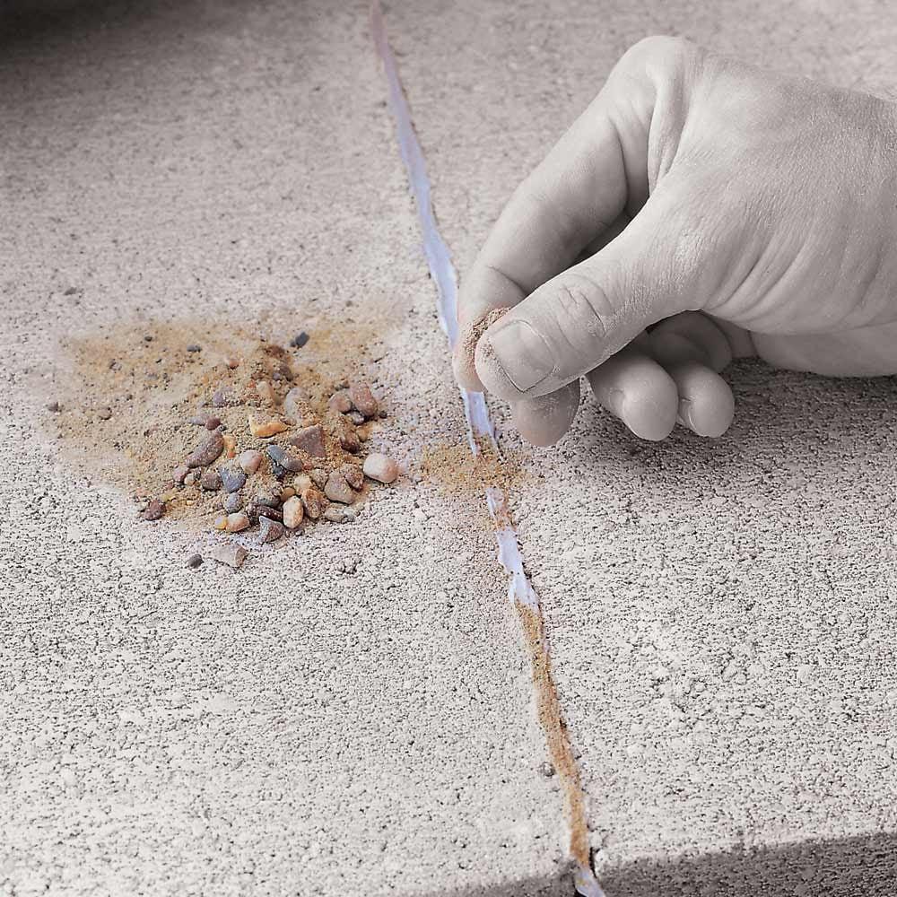 Disguising Caulk on Concrete