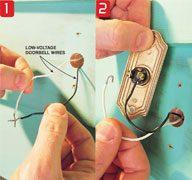 Replace a Doorbell Button