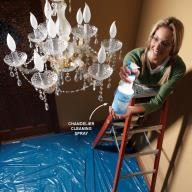 Speed-Clean Chandeliers