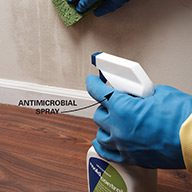 Use an Antimicrobial Spray