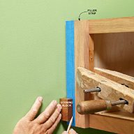 Use a Block of Wood for Scribing