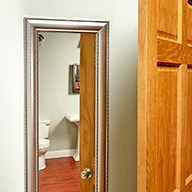 Hang a Mirror Behind the Door