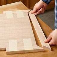 Use Scrap Wood Guides for a Perfect Fit