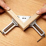 Square Up With Corner Clamps