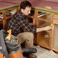 Surprising Tips For Painting Kitchen Cabinets The Family Handyman