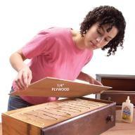 Reinforce a Sagging Drawer Bottom