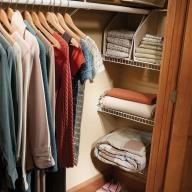 Closet Nook Shelves