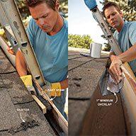 Rusting Metal Gutters