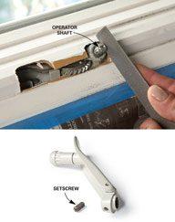 Fix a Stripped Crank Handle