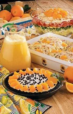 Orange Meal Photo