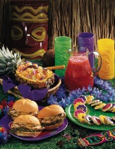 Luau Meal Photo