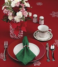 Holiday Place Setting Photo