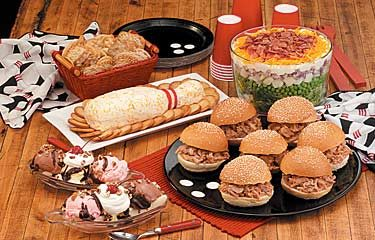 Bowling Party Recipes Photo