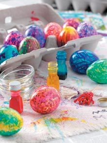 How to Make Your Own Egg-Painting Brushes