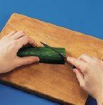 Cucumber Fan Step 1