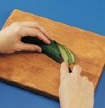 Cucumber Fan Step 2
