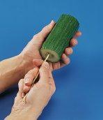 Cucumber Spiral Step 1