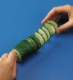 Cucumber Spiral Step 3