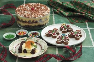 Gingerbread Cake, Gingerbread Men and Gingerbread Trifle