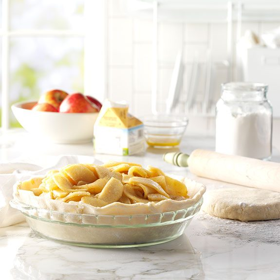 Make homemade pie filling with the The Best Apple Pie recipe from Taste of Home.