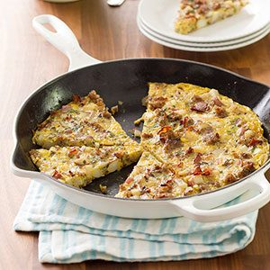How to Make a Frittata, a Lazy Cook's Perfect Breakfast (or Lunch or Dinner...)