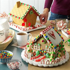 Family Holiday Tradition #1: Gather 'Round a Gingerbread House