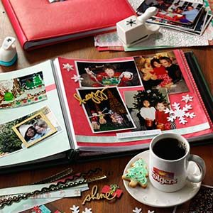 Best Holiday Tradition: Create a Holiday Scrapbook