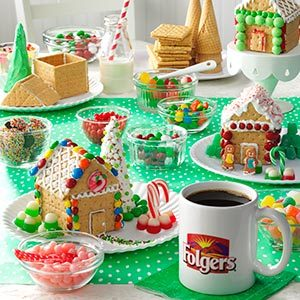 Best Holiday Tradition: Host a Gingerbread House Decorating Party