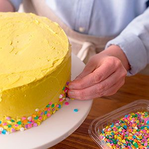 How to Make Funfetti Cake