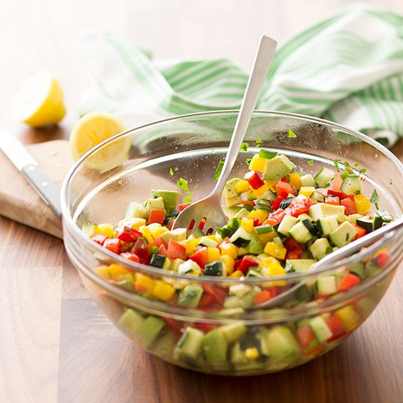 How to Make Our Test Kitchen's Best Chopped Salad Recipe