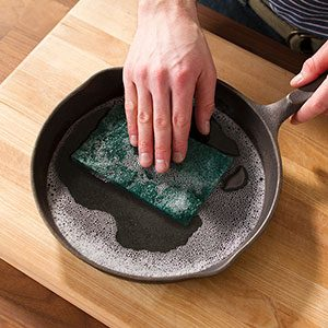 The Easy Way to Restore a Rusted Cast-Iron Skillet