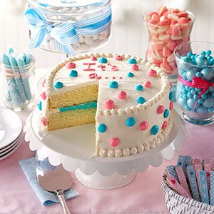 Learn How to Make a Baby Gender Reveal Cake
