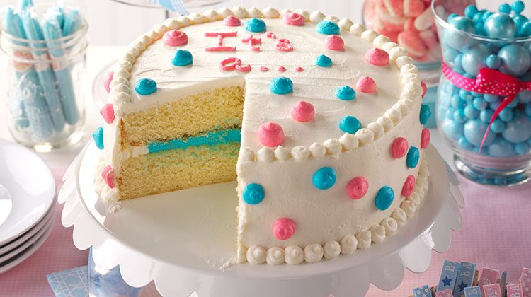 How To Make A Gender Reveal Cake Taste Of Home