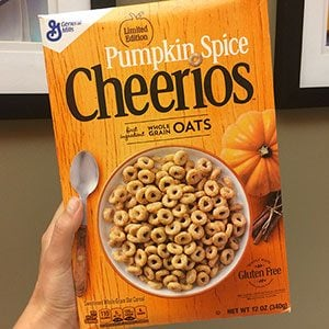 We Tried Pumpkin Spice Cheerios and Here's What You Need to Know