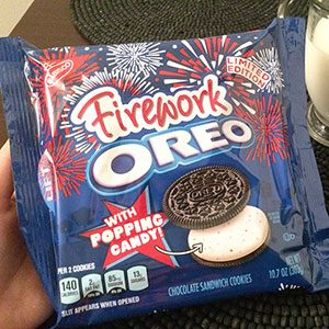 We Tried the New Firework Oreo Flavor, and Here's What You Need to Know