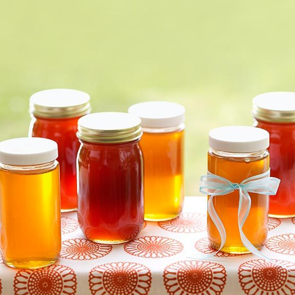 Honey varieties range in color and taste from deep and bold to light and mild.