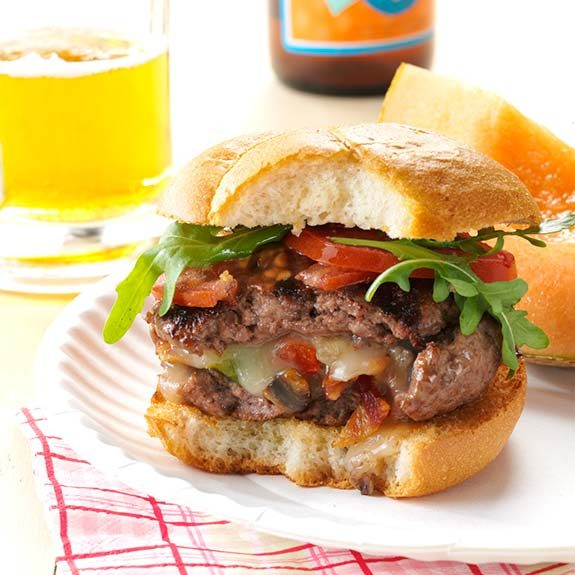 How to Make Stuffed Burgers