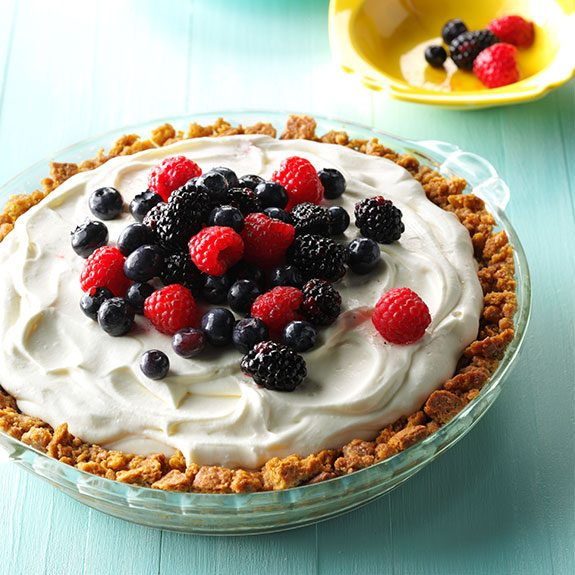 no-bake easy cream pie