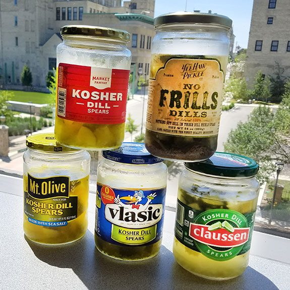 We Taste Tested 5 Common Brands of Dill Pickles. Our Top Pick Might Surprise You.